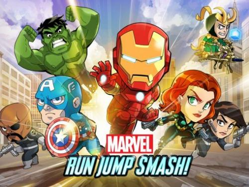 Марвел: Беги! Круши! (Marvel: Run jump smash!)