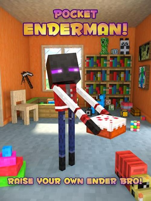 Карманный Эндермен (Pocket Enderman)