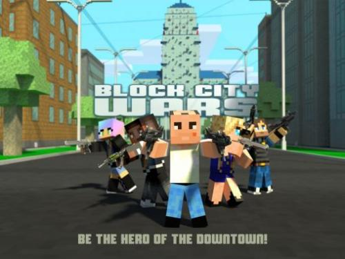 Война в Блок-Сити: Мой мини шутер (Block City wars: Mine mini shooter)