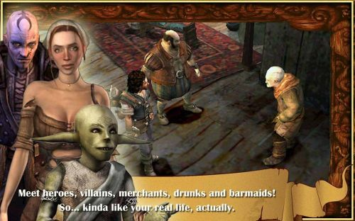 Сказка Барда (The Bard's Tale) v1.6.6